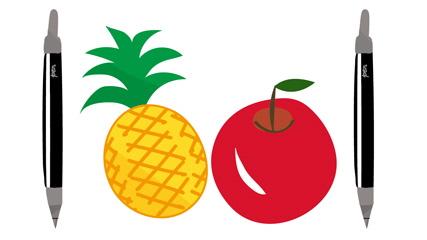 ペンとパイナップル