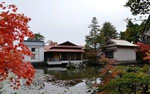 梅村庭園の紅葉